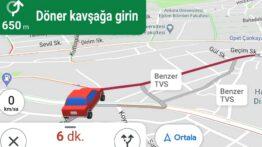 Benzer TVS Ne Demek Google Haritalar