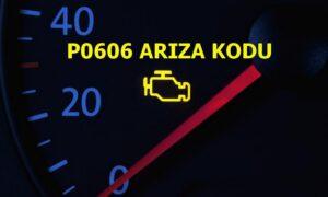 P0606 PCM İşlemci Hatası Arıza Kodu