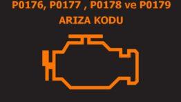 P0176, P0177 , P0178 ve P0179 Yakıt Karışım Sensörü Arıza Kodu