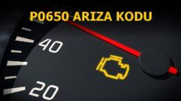 P0650 Arıza Gösterge Lambası Kontrol Devresi Arıza Kodu