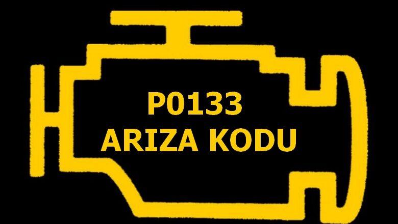 P0133 Oksijen Sensörü (O2) Geç Tepkime (Sıra 1, Sensör 1) Arıza Kodu