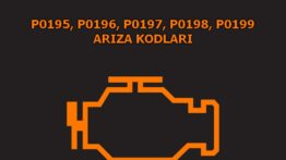 P0195, P0196, P0197, P0198, P0199 Motor Yağ Sıcaklık Sensör Arızası Arıza Kodları