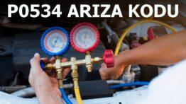 P0534 Klima Gazı Basınç Kaybı Arıza Kodu
